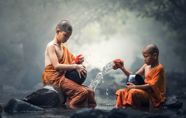 Buddhist Ritual Water - Free photo on Pixabay (101844)