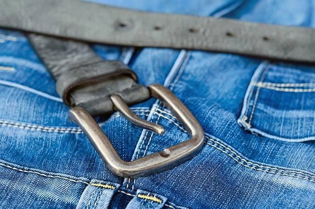 Blue Jeans Belts Belt Buckle - Free photo on Pixabay (103020)