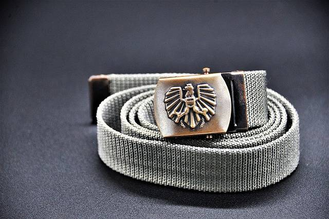 Belt Buckle Belts Federal Army - Free photo on Pixabay (103021)