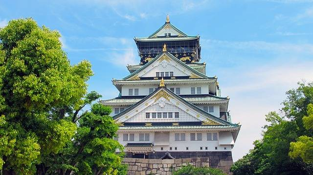 Osaka Castle Japan Five - Free photo on Pixabay (104487)