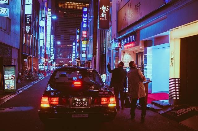 Japan Osaka Night - Free photo on Pixabay (104491)