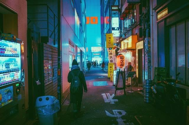 Japan Osaka Night - Free photo on Pixabay (104495)