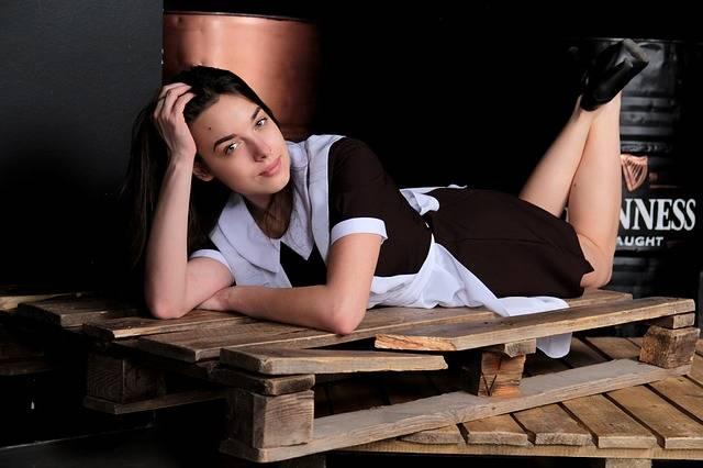 Schoolgirl Beautiful High School - Free photo on Pixabay (104518)