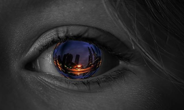 Eye Iris City - Free image on Pixabay (104944)