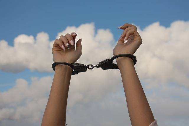 Hands Handcuffs The Dependence Of - Free photo on Pixabay (104980)