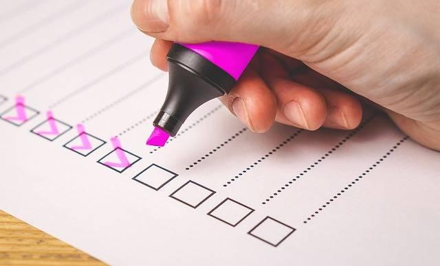 Checklist Check List - Free image on Pixabay (106810)