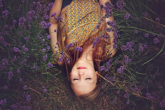Girl Lavender Asleep - Free photo on Pixabay (107396)