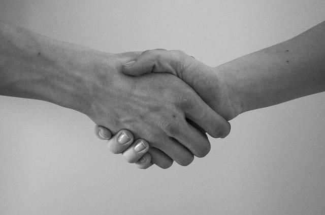 Hand Greeting Agreement - Free photo on Pixabay (109097)