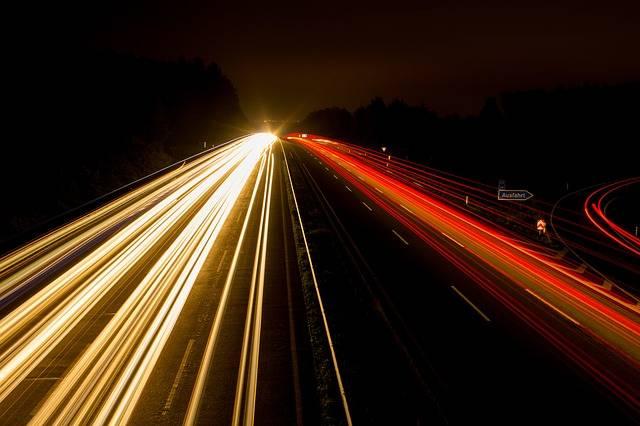 Highway Night Photograph Lights - Free photo on Pixabay (112979)