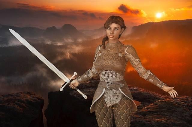 Woman Warrior Amazone - Free image on Pixabay (113053)