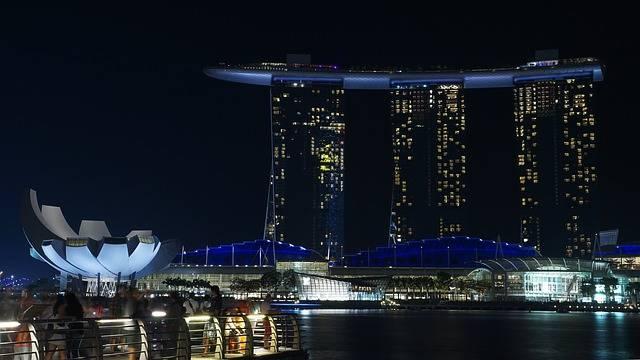 Singapore Night Marina - Free photo on Pixabay (119220)