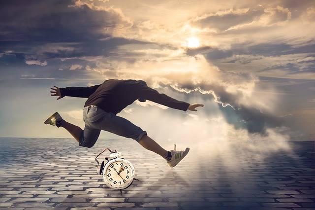 Time Man Jump Alarm - Free photo on Pixabay (120860)