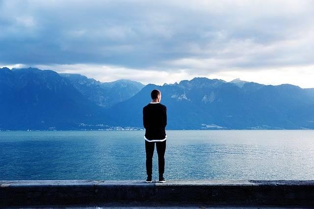 Solitude Man Standing - Free photo on Pixabay (120874)