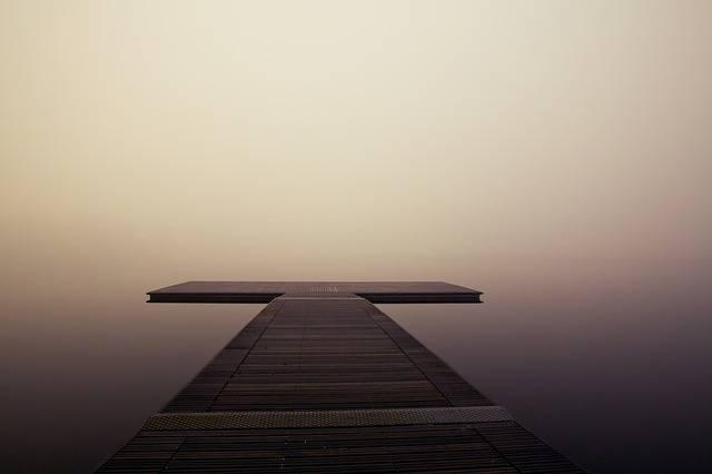 Pier Wooden Lake - Free photo on Pixabay (120890)