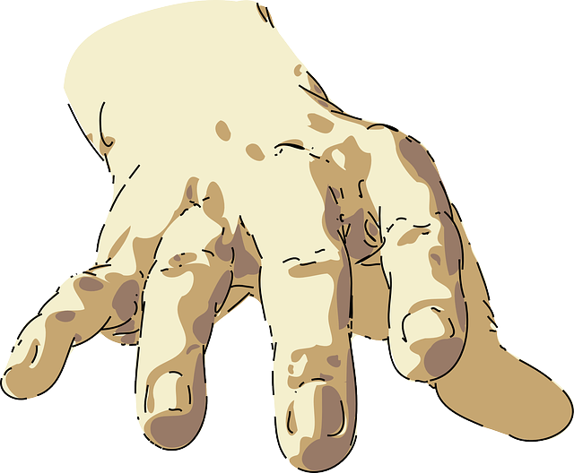 Hand Part Reaching - Free vector graphic on Pixabay (123046)
