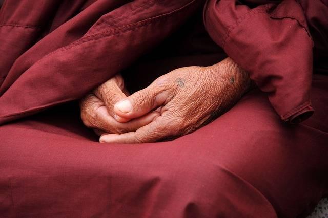 Monk Hands Zen - Free photo on Pixabay (123531)
