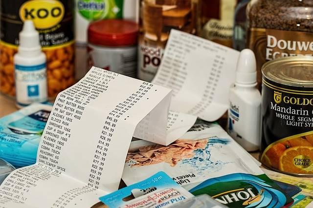 Shopping Spending Till Slip - Free photo on Pixabay (131715)