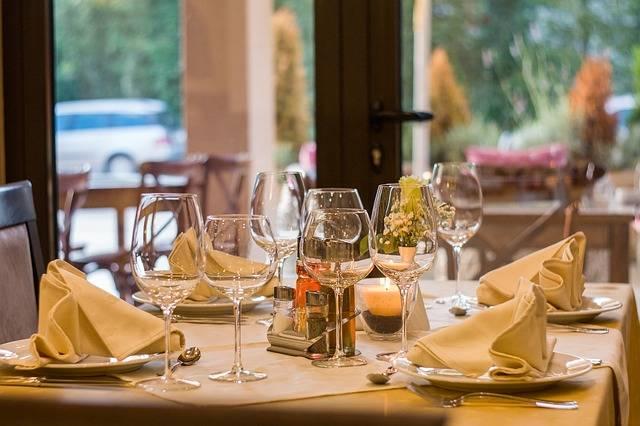 Restaurant Wine Glasses - Free photo on Pixabay (135472)
