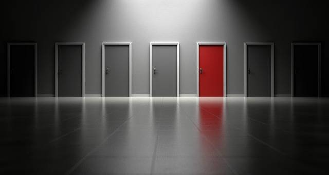 Doors Choices Choose - Free photo on Pixabay (135826)