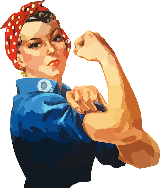 Woman Equality Rosie - Free vector graphic on Pixabay (136264)