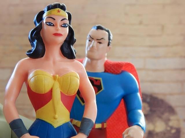 Wonder Woman Superman Superhero - Free photo on Pixabay (136500)
