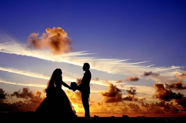 Sunset Wedding Bride - Free photo on Pixabay (136515)