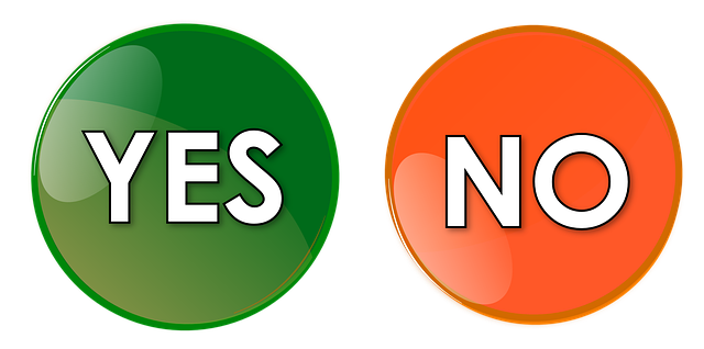 Yes No Button - Free image on Pixabay (136961)