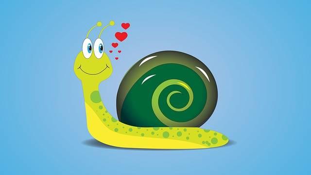 Snail Draw Cartoon - Free image on Pixabay (137380)