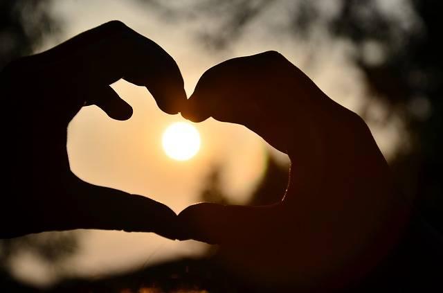 Heart Warm Light And Shadow - Free photo on Pixabay (139749)
