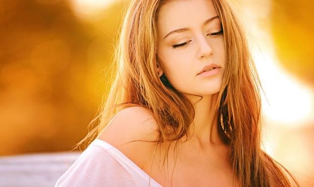 Woman Blond Portrait - Free photo on Pixabay (140461)