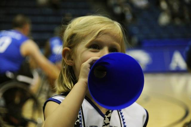 Cheerleader Basketball Child - Free photo on Pixabay (140985)