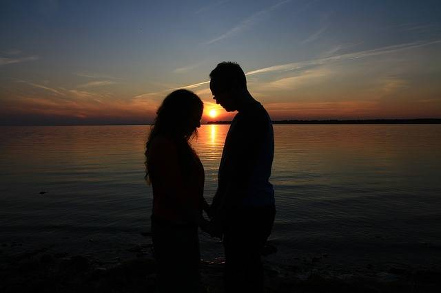 Prayer Couple Sunset In - Free photo on Pixabay (141581)