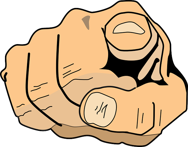 You Index Finger Pointing - Free vector graphic on Pixabay (143316)