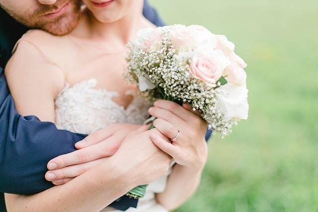 Wedding Bridal Bouquet Couple - Free photo on Pixabay (145044)
