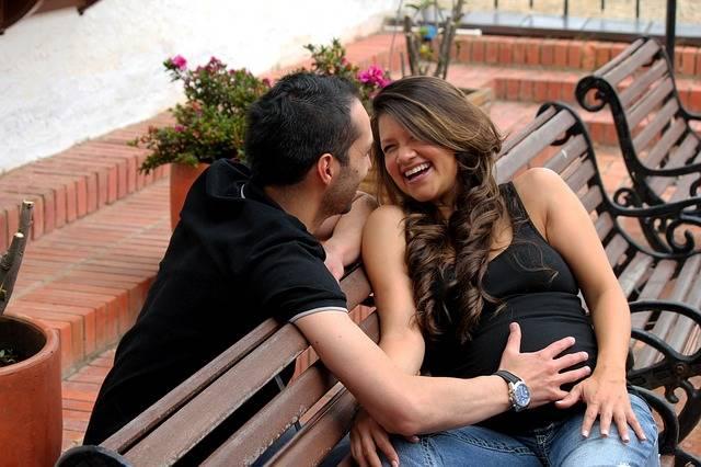 Couple Pregnancy Marriage - Free photo on Pixabay (148425)
