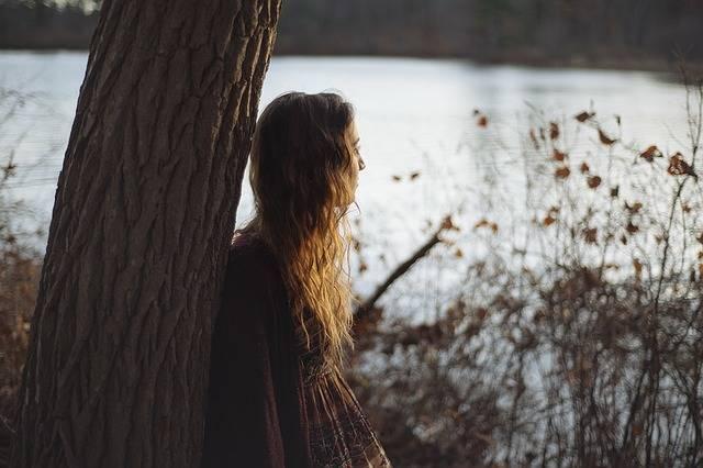 Girl Woman Tree - Free photo on Pixabay (149543)