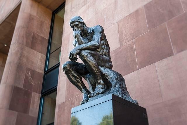 Art Thinker Sculpture - Free photo on Pixabay (149829)