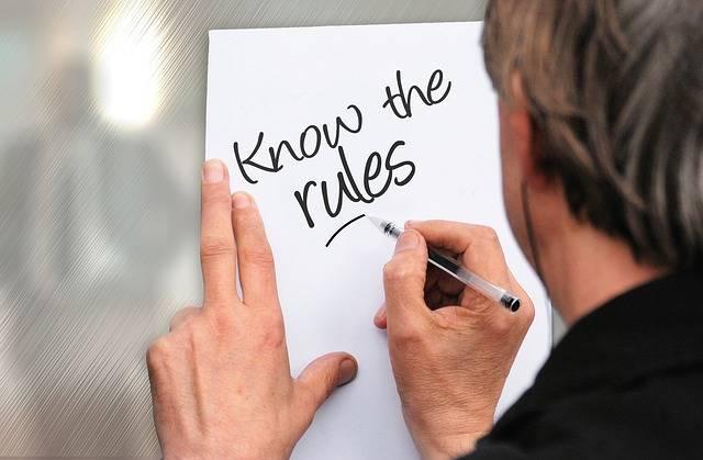 Rules Hand Write - Free image on Pixabay (152468)