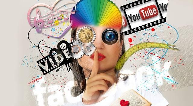 Interaction Social Media Abstract - Free image on Pixabay (153375)