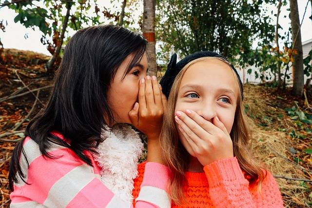 Girls Whispering Best Friends - Free photo on Pixabay (154002)