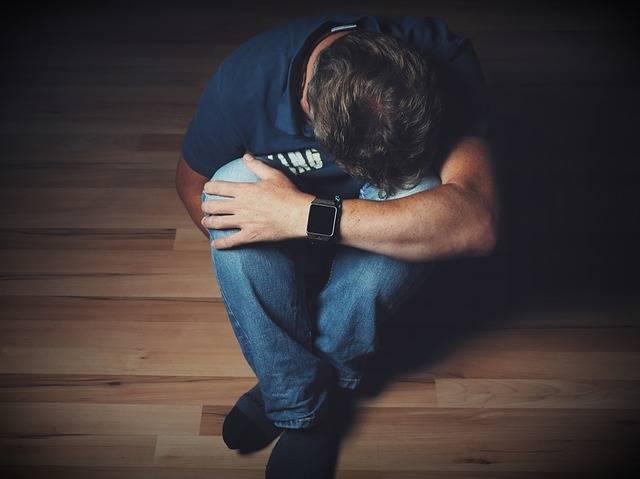 Man Mourning Despair - Free photo on Pixabay (154481)