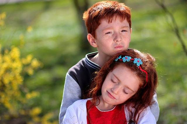 Brother Sister Red Hair - Free photo on Pixabay (155163)
