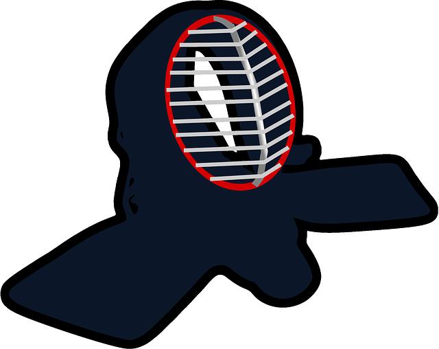 Kendo Helmet Japanese - Free vector graphic on Pixabay (155430)