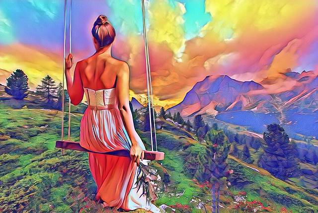 Woman Nature Colorful - Free image on Pixabay (155611)
