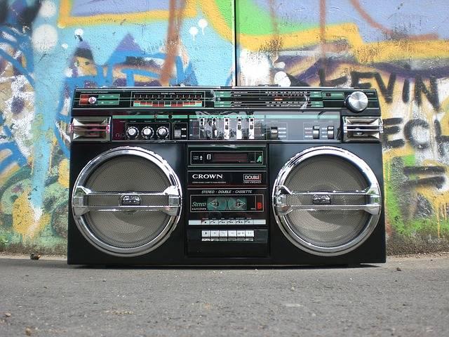 Ghettoblaster Radio Recorder - Free photo on Pixabay (156175)
