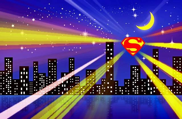 Superman City Superhero - Free image on Pixabay (157825)