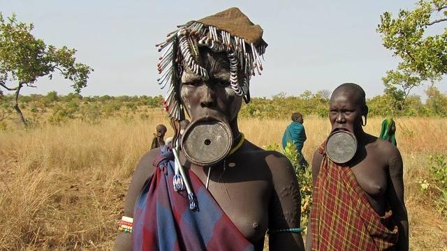 Mursi People Lip Plate Indigenous - Free photo on Pixabay (158341)