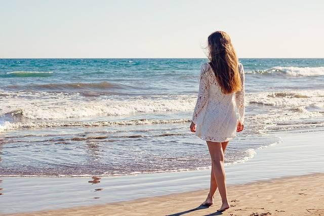 Young Woman Sea - Free photo on Pixabay (160001)