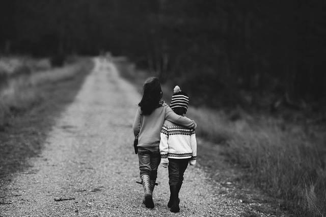 Children Road Distant - Free photo on Pixabay (160481)