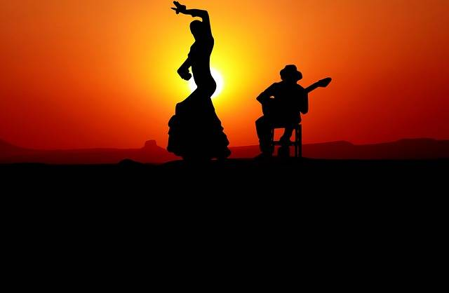 Sunset Dance Flamenco - Free image on Pixabay (161079)